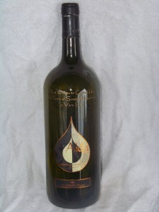 I made this bottle for local restaurant Carmel's, but they have, unfortunately, closed.