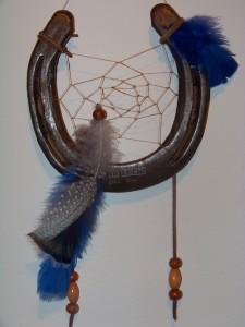 Horseshoe Dreamcatcher-custom engraved